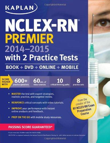 9781618654991: NCLEX-RN Premier 2014-2015 with 2 Practice Tests