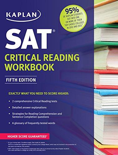 9781618655899: Kaplan SAT Critical Reading Workbook (Kaplan Test Prep)