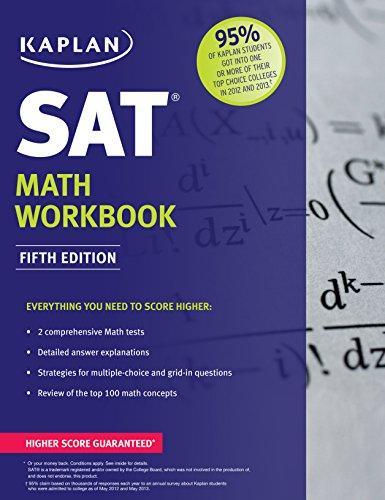 9781618655929: Kaplan SAT Math Workbook (Kaplan Test Prep)