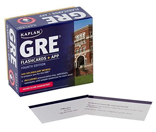 9781618656193: GRE Vocabulary Flashcards + App (Kaplan Test Prep)