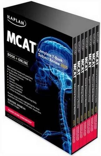 Kaplan MCAT Complete 7-Book Subject Review: Created for MCAT 2015 (Kaplan Test Prep): Kaplan