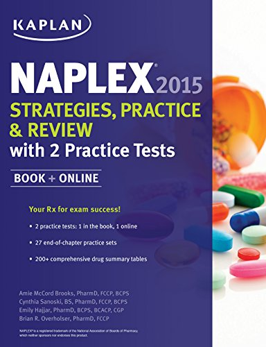 9781618657961: NAPLEX 2015 Strategies, Practice, and Review with 2 Practice Tests: Book + Online (Kaplan Medical Naplex)
