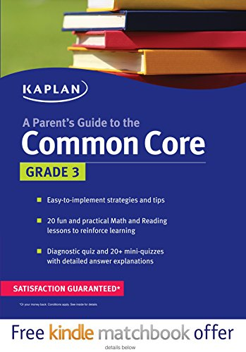 A Parent's Guide to the Common Core, Grade 3
