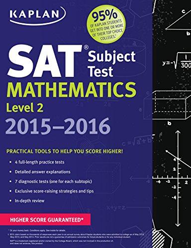 Kaplan SAT Subject Test Mathematics Level 2 2015-2016 (Kaplan Test Prep): Kaplan
