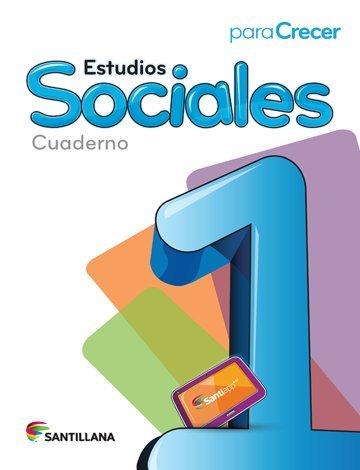9781618753175: Para Crecer Estudios Sociales 1 Cuaderno 2015-2016 Santillana Isbn: 9781618753175