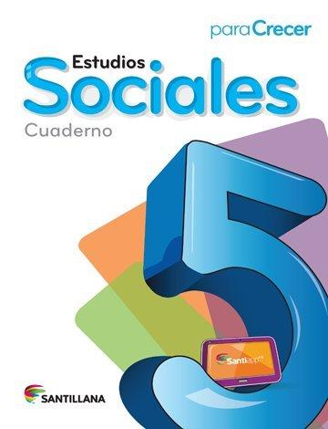 9781618753212: Para Crecer Estudios Sociales 5 Cuaderno 2015-2016 Santillana Isbn: 9781618753212