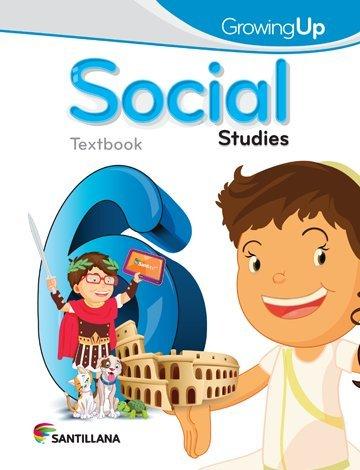 9781618754387: Growing up Social Studies 6 Text 2015-2016 Santillana Isbn: 9781618754387