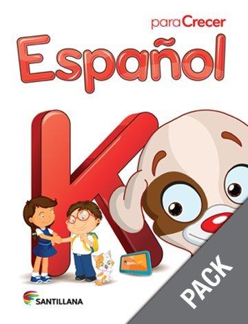 9781618754547: Espanol K (Pack) (Para Crecer)