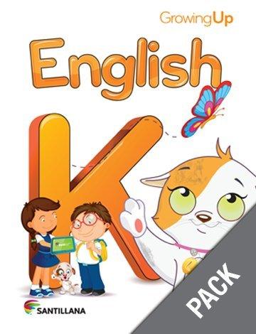 9781618754615: English K (Pack) (Para Crecer)