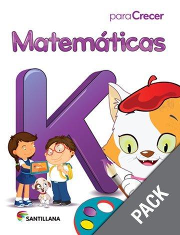 9781618754684: Matematicas K (Pack) (Para Crecer)
