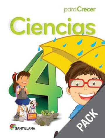 9781618754783: Ciencias 4 (Pack) (Para Crecer)