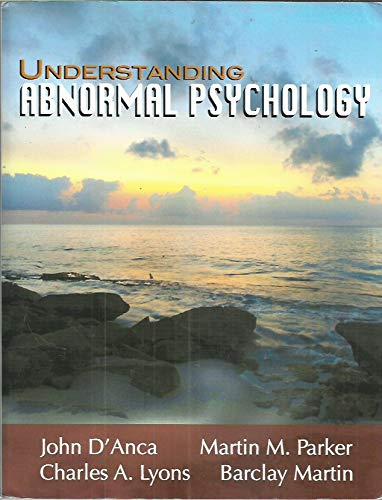 9781618820211: Understanding Abnormal Psychology (Understanding Abnormal Psychology)