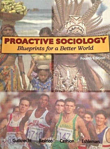 9781618820594: Proactive Sociology (blueprints for a better world)