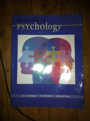 Essentials of Psychology: R.H. Ettinger, Tori