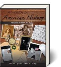 INTRO.TO AMERICAN HISTORY,VOL.II: Brian Farmer, Carl Degler, Vincent De Santis