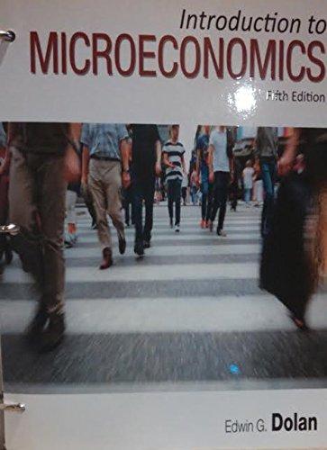 Introduction To Microeconomics: Edwin Dolan