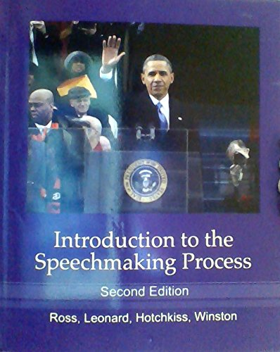 Introduction to the Speechmaking Process: Ross, Raymond S.;