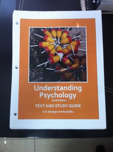 9781618825551: Understanding Psychology 6th.edition Text and Study Guide Custom for University of Miami Psy 110