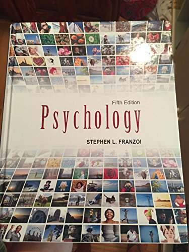 9781618825728: Psychology (5th, Fifth Edition) - By Stephen L. Franzoi