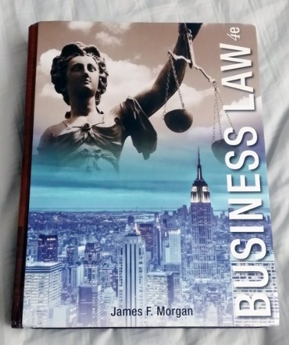 9781618825926 business law 4th edition james morgan pdf ebook 9781618825926 business law 4th edition james morgan pdf ebook fandeluxe Choice Image