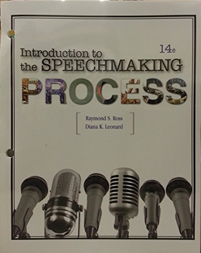Introduction to the Speechmaking Process: Diana K. Leonard,