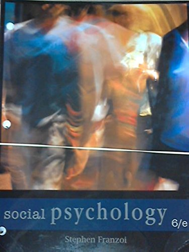 9781618826473: Social Psychology