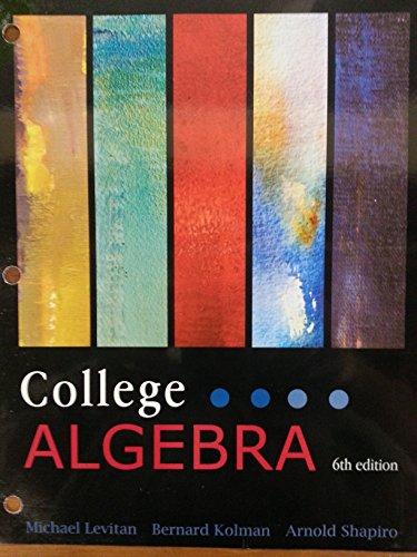 9781618826565: College Algebra
