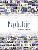 ESSENTIALS OF PSYCHOLOGY: Stephen L. Franzoi