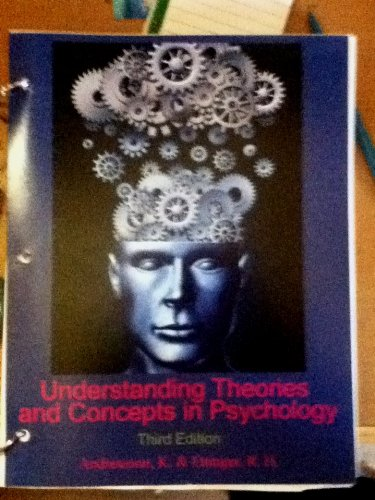 9781618827265: Understanding Theories and Concepts in Psychology