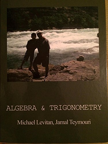 9781618829269: Algebra & Trigonometry