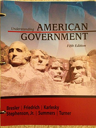 9781618829634: Understanding American Government (5th Edition)