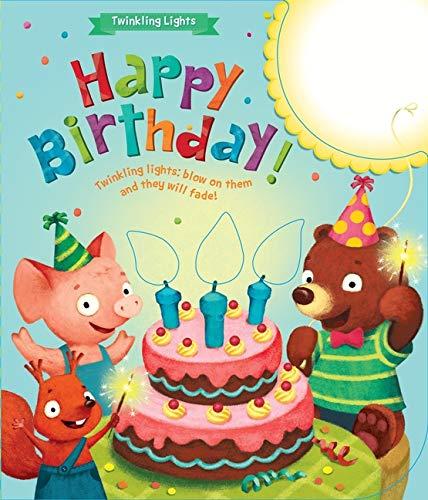 9781618890139: ¡Feliz Cumpleaños! Velas Mágicas, sopla y se apagan, Happy Birthday! (Twinkling Lights) (Spanish and English Edition)