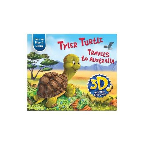 9781618890368: Tyler Turtle Travels to Australia (Pop-Up: Play & Listen)