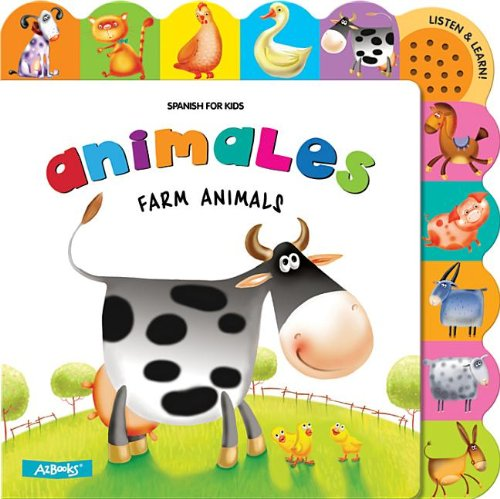 9781618891358: Animales Farm Animals (Spanish for Kids)