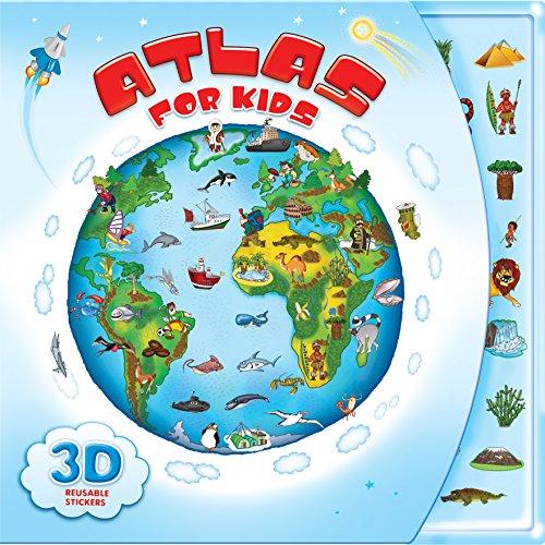 9781618891457: Atlas for Kids
