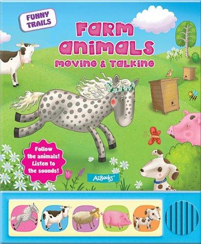 9781618891747: Farm Animals Moving & Talking (Funny Trails)