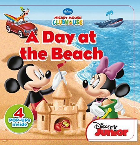 9781618894533: A Day at the Beach (Disney Mickey Mouse Clubhouse)