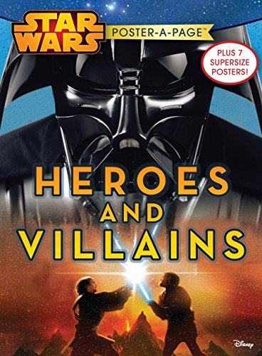 Star Wars Heroes and Villains Poster-A-Page