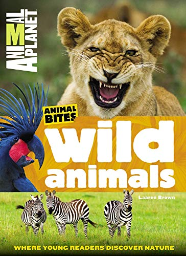 Wild Animals (Animal Planet Animal Bites) (Paperback or Softback)