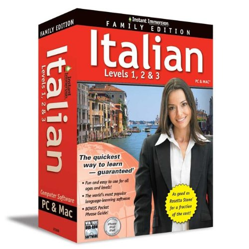 9781618943484: Instant Immersion Italian: Levels 1, 2 & 3: Family Edition (Italian Edition)