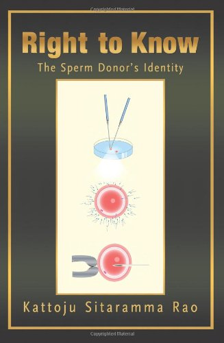 Right to Know The Sperm Donors Identity: Kattoju Sitaramma Rao