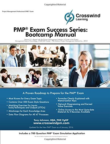 9781619080003: PMP Exam Success Series: Bootcamp Manual (with Exam Sim App)