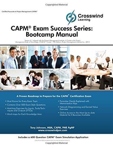 9781619080324: CAPM Exam Success Series: Bootcamp Manual (with Exam Sim App)