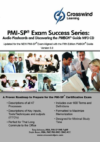 9781619080935: PMI-SP Exam Success Series: MP3 Audio Flashcards and Discovering the PMBOK Guide