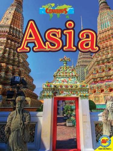 9781619134461: Asia, with Code (Continents (AV2))