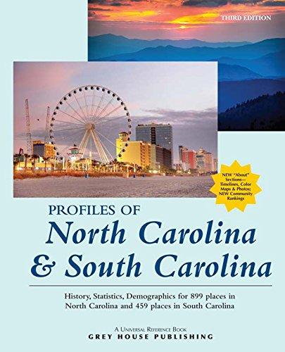 9781619251380: Profiles of North Carolina & South Carolina, 2015