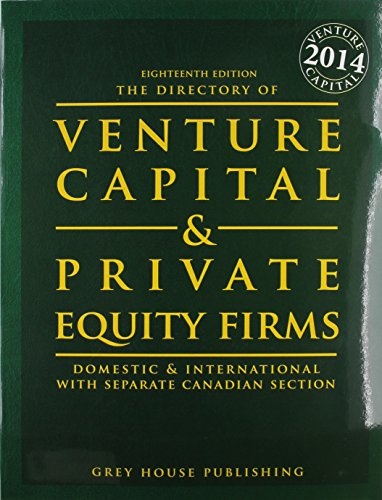 9781619252530: The Directory of Venture Capital & Private Equity Firms, 2014: Print Purchase Includes 1 Year Free Online Access (Directory of Venture Capital and Private Equity Firms)