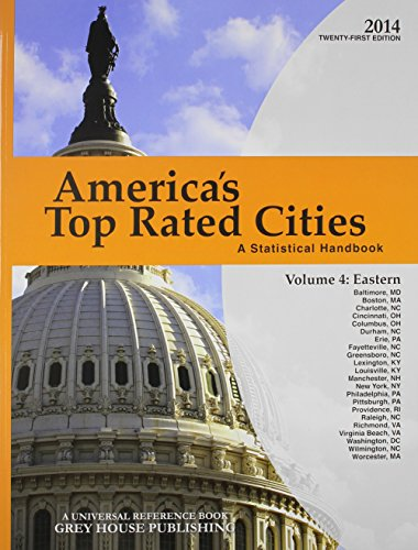 9781619252646: America's Top-Rated Cities, 4 Volume Set, 2014 4 Volume Set - Print Purchase Includes 2 Years Free Online Access (America's Top Rated Cities: A Statistical Handbook)