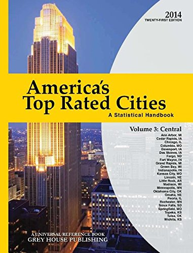 America s Top-Rated Cities 2014: Central Volume 3 (Paperback)