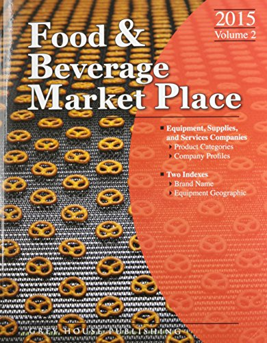 Suppliers (Thomas Food and Beverage Market Place Vol. 2)